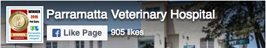 Parramatta Veterinary Hospital Facebook Fan page